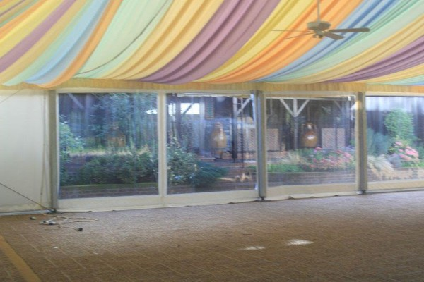 Used marquee linings