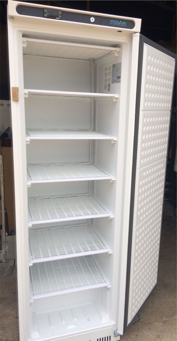 Polar Single Door Cabinet Freezer White 365 Ltr