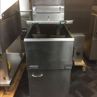 Double gas fryer for sale