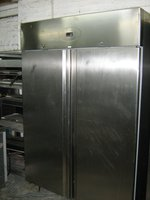 Double door upright fridge for sale