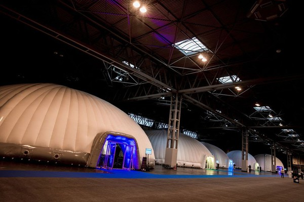 Ex hire inflatable dome for sale