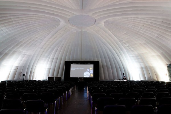 Ex stock inflatable dome