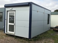 Single Bay Modular Office, Canteen Building 6.7m x 3.4m
