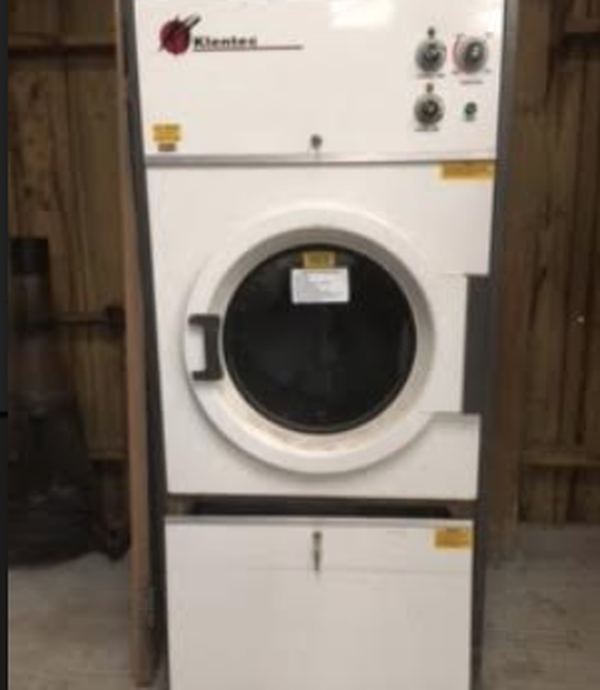 Used gas powered tumble drier