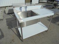 Steel single bowl sink for sale