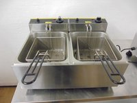Used double tank electric fryer