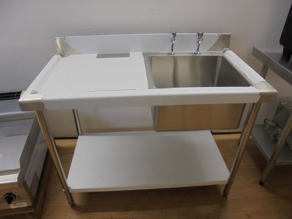 Single bowl catering sink for sale