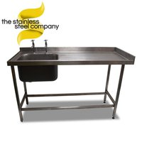 Steel single sink for sale