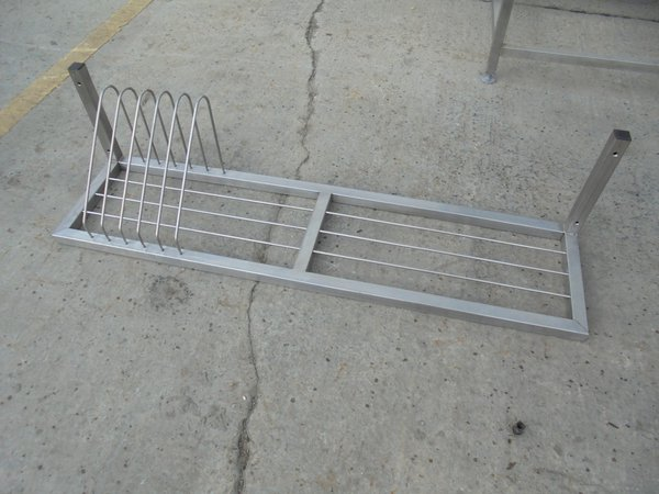 Commercial shelving rack