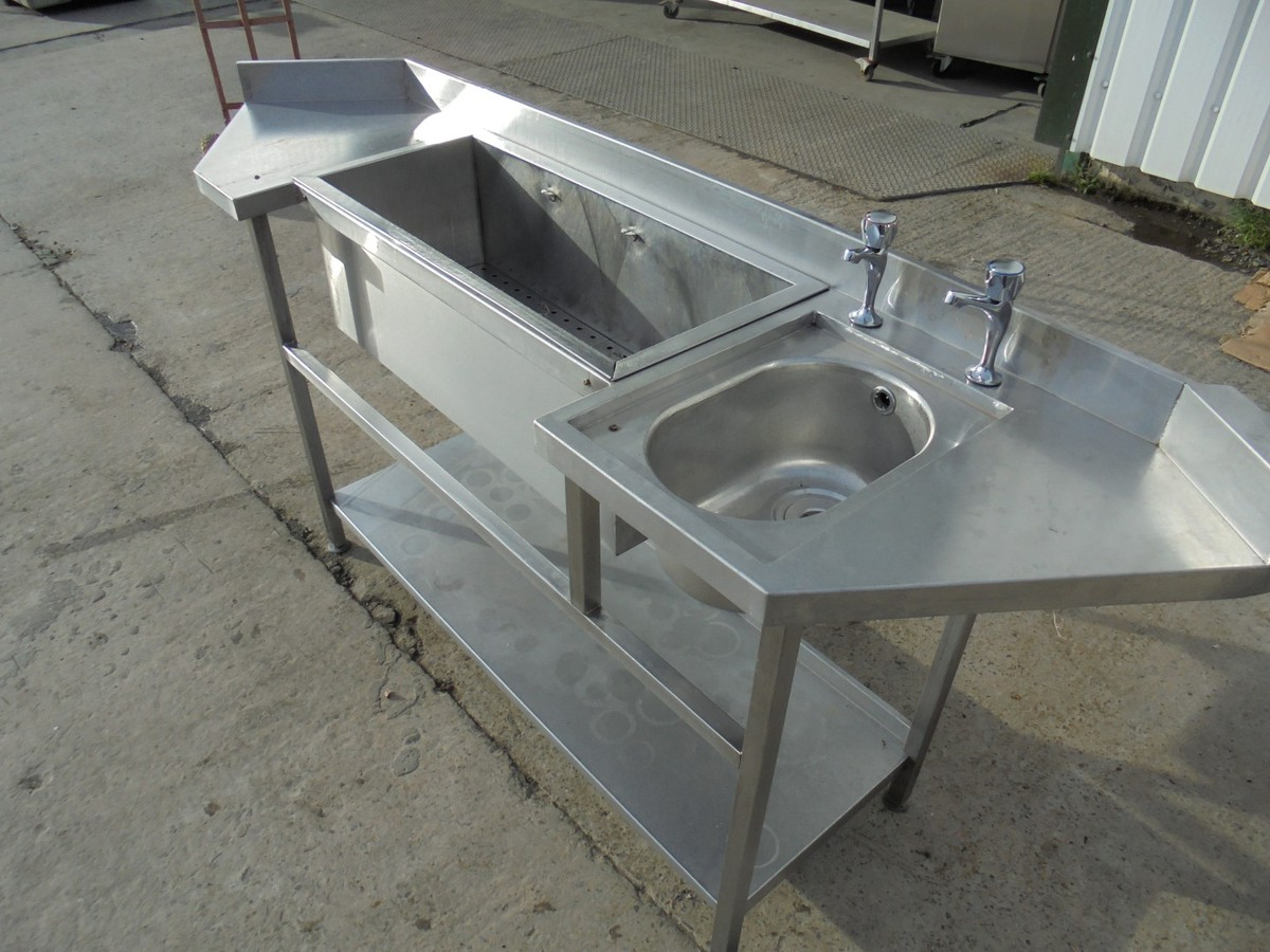 Secondhand Pub Equipment Bars Stainless Steel Bar Sink