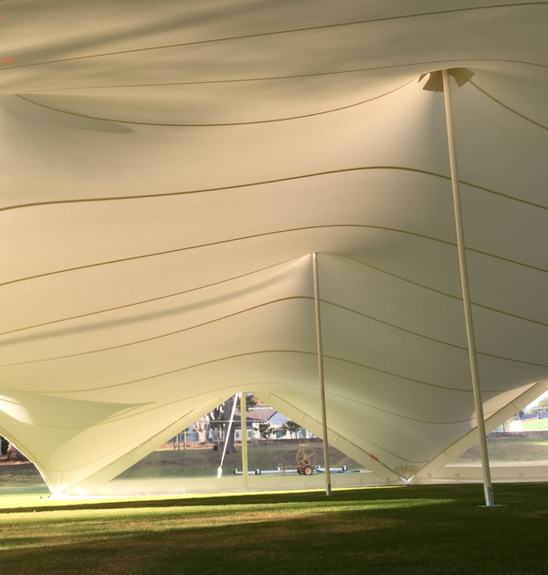 Stretch tent package