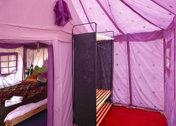 Used Indian Shikar tents