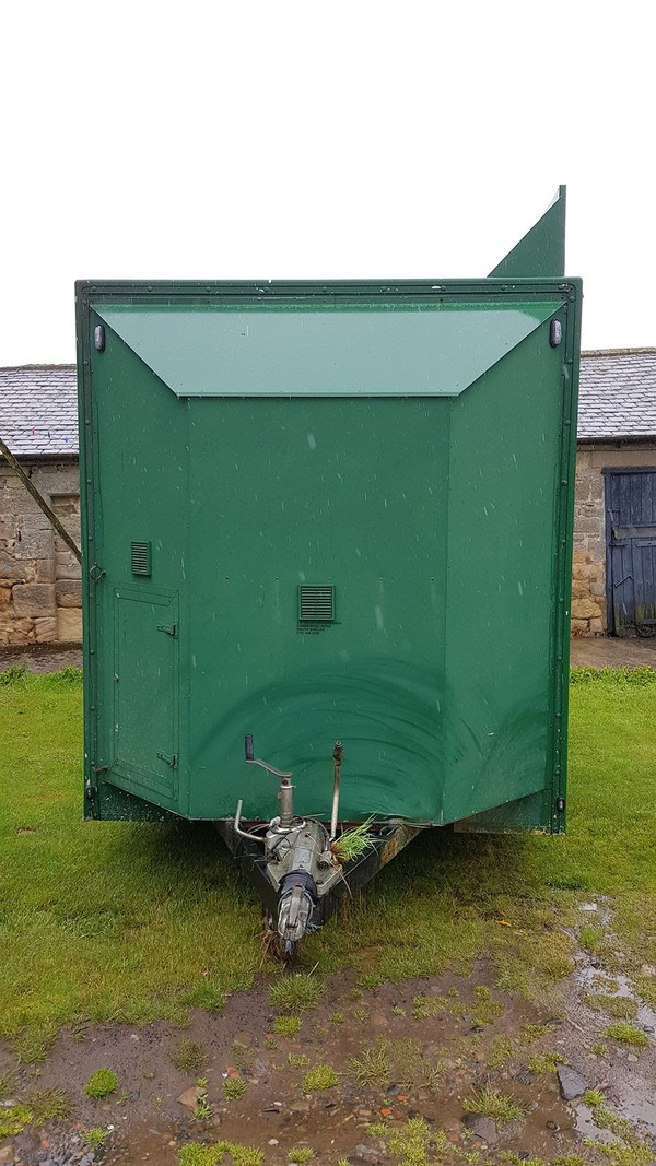 trailer with water boiler UK