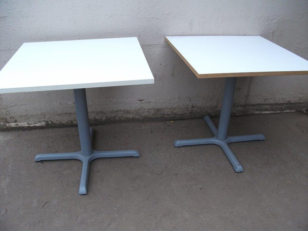 Used cafe tables for sale