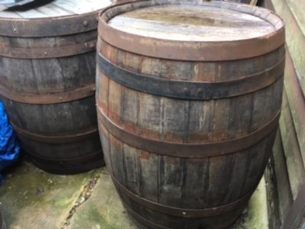 Used pub barrels