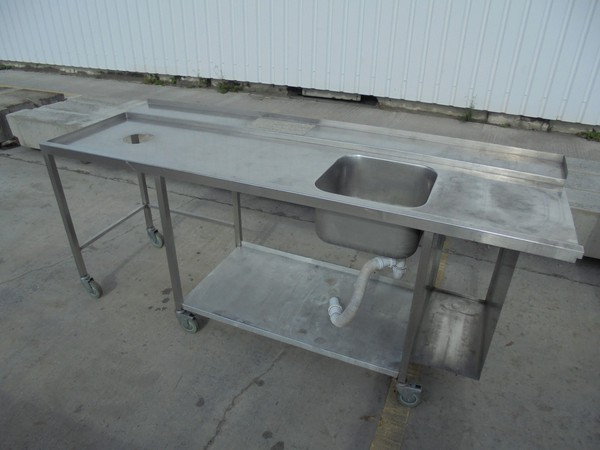 Single bowl dishwasher sink for sale