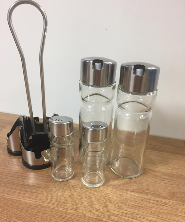4 piece cruet sets for sale