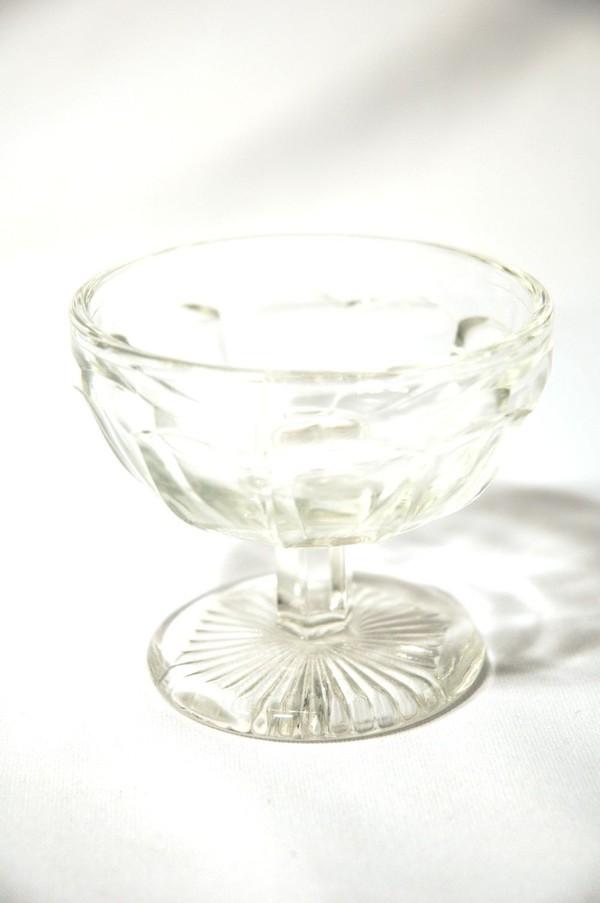 ex hire glass sunae dishes UK