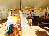 Used glamping tent for sale