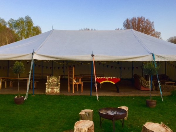 70 x 30 Traditional Push Pole Marquee
