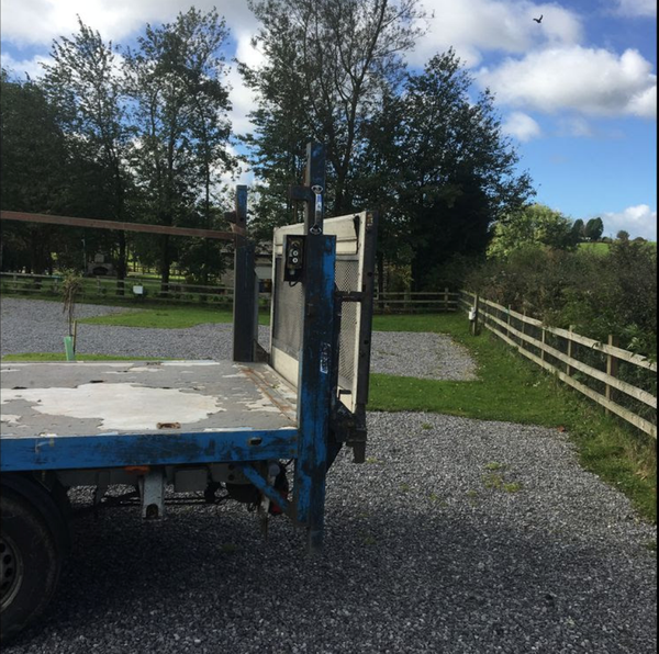 used toilet trailer transport