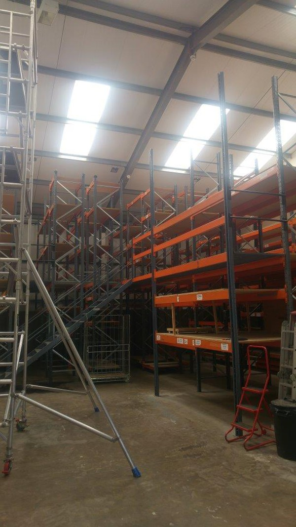 Used racking for beams for sale