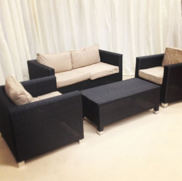 Used rattan furniture set for sale