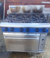 Blue Seal 6 Burner Cooker