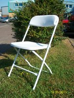 White Samsonite Folding Chairs