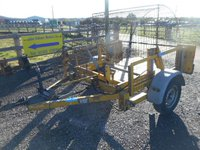 Used cable drum trailer