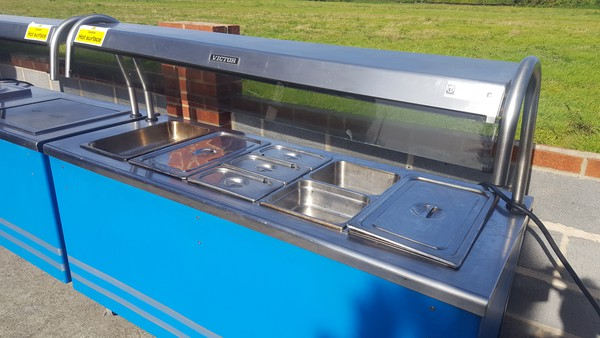 second hand hot cupboard carvery counter