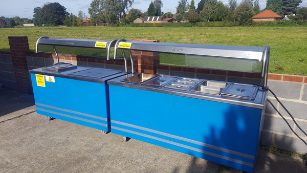 used carvery counter for sale