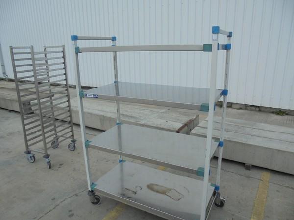 Used steel 4 tier rack for sale UK