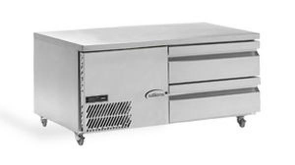 new under broiler fridge