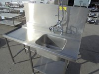 Used steel dishwasher sink for sale
