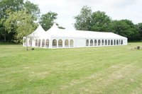 12m x 27m Marquee with Linings / Matting / Starlight - West Sussex