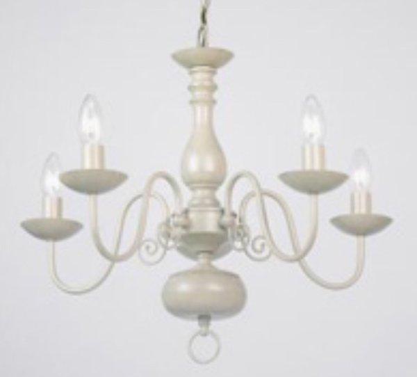 4 arm chandelier