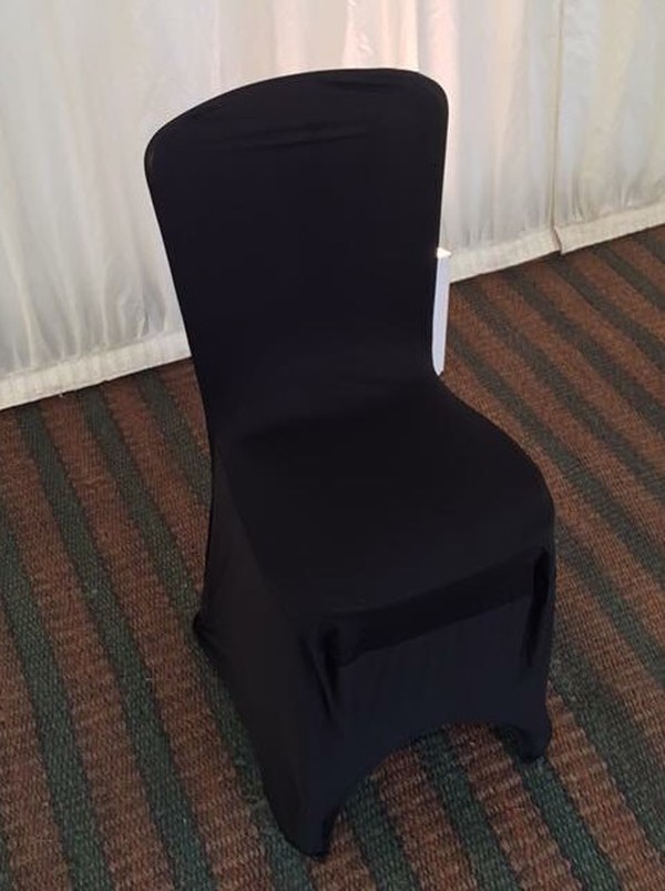 white seat / chair covers