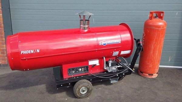 Arcotherm Indirect Diesel Heater