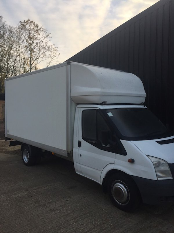 Ford Transit Long Wheel Base Luton With Tail Lift