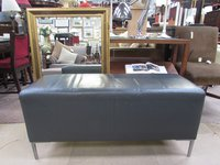 Used  leather benches
