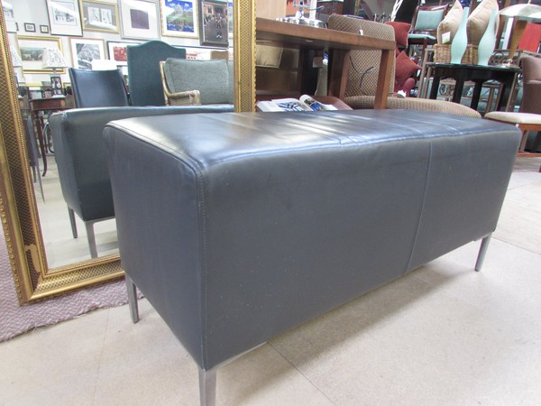 leather benches for sale