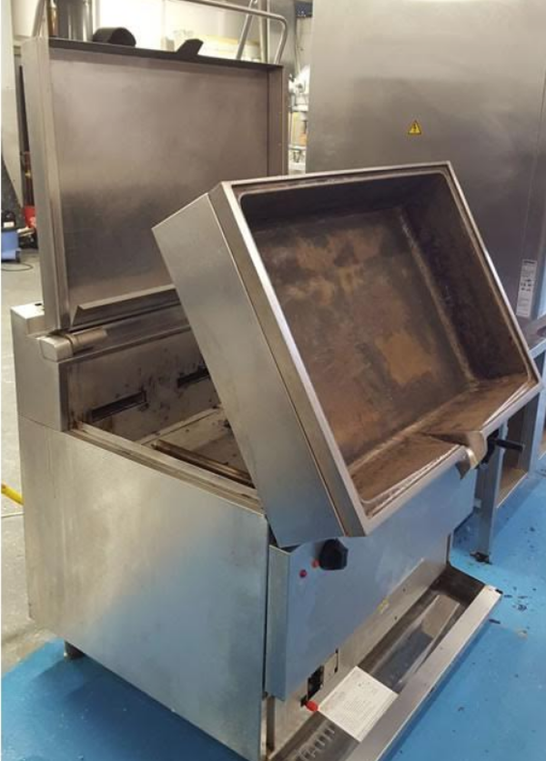 Commercial used bratt pan