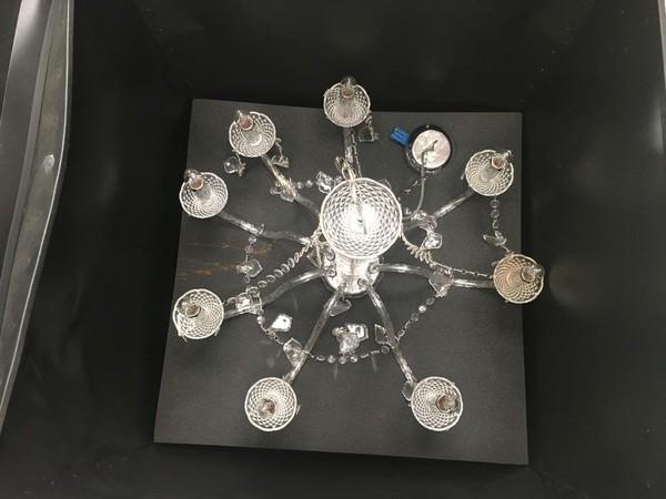 Glass chandeliers Kent