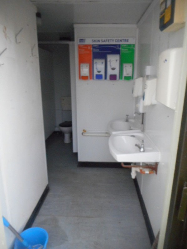 2 + 1 Toilet block UK