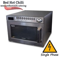Used commercial microwave