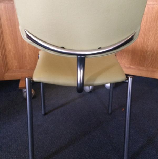 armless banqueting chair