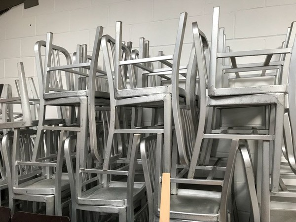 Used Mezzi restaurant chairs