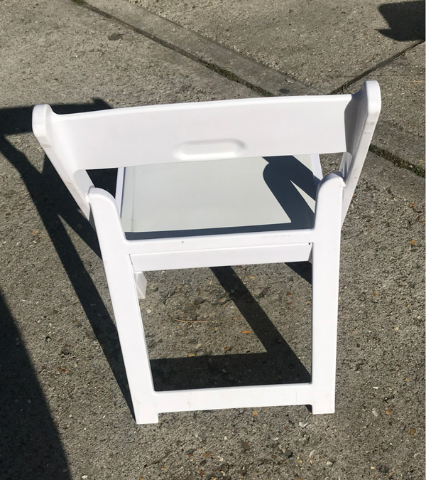 White wooden outdoor chairs UK