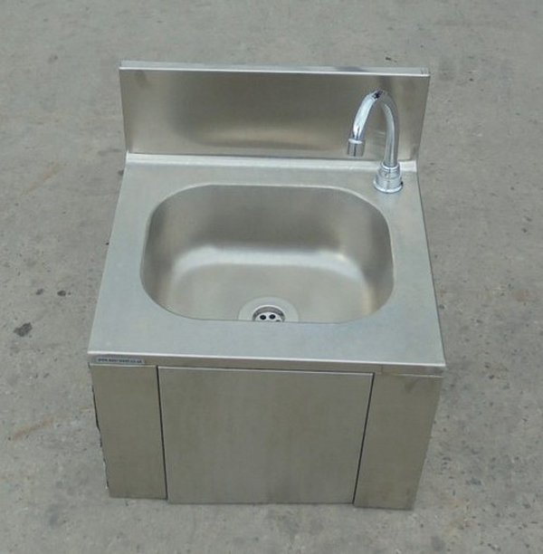 Knee operated sink for sale